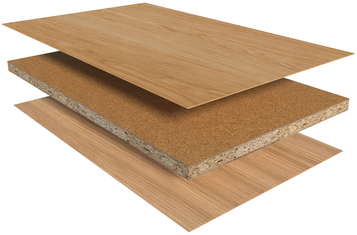 Particleboard Veneer Panel Manufacturing Labos